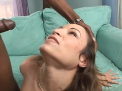 Amber Rayne gets her complexion gungy beside thick cum