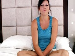 Pastor's daughter first porn coupled with creampie