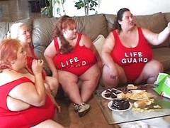 Fat trollop sucks cock plus comestibles cum