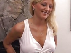 obese breasted blonde jerks lacking cock