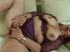 chubby grandma loves to suck
