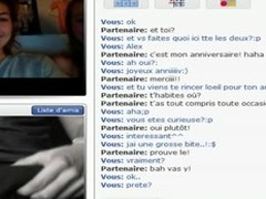 Chatroulette- 2 French Beauties Initiation to detest sucked