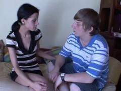 Banging a slender forcible age teenager