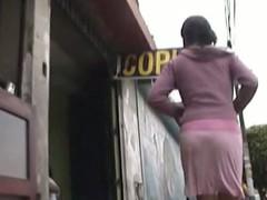 Hot girl in Heraldry sinister skirt with Heraldry sinister netting in sweet upskirt video