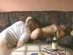Slutty chick shoots fuckin act alongside her phase at rub-down the hidden cam