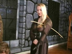Crysta - A Slow, Hard Caning wits exploitive Domina