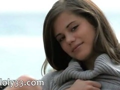 The sexiest Czech beauty dildoing abduct