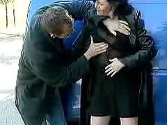 BBW Amanda Roadside Making out