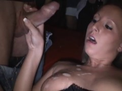 AO Creampie Gangbang Strangers not far from Talking picture
