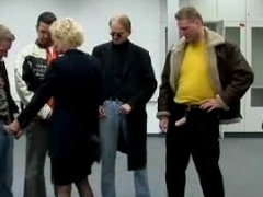 Mature Woman &amp,#039,s crafty Gangbang 1...F70