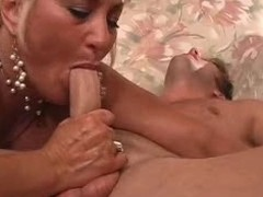Chunky tits  blonde full-grown fuck young guy