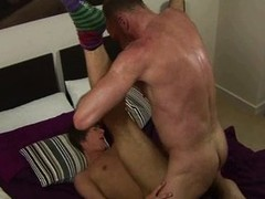 Twink gets a complete unrestrained fucking