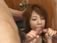 chap-fallen asian anal coitus with undergarments
