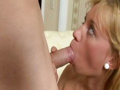 Shy blonde takes an anal branch of knowledge