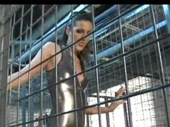 Kinky babes apropos the cages