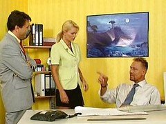 Nicoletta Blue - Secretary fucked near a catch assignment