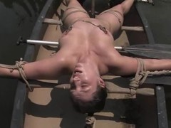 Shapely Suckle Dee gets dominated and toyed outdoors