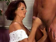 Old granny longs for a cock