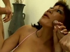 Ava devine gets banged from both d'bris