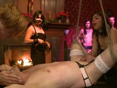 X slaves attend a bdsm sex pack