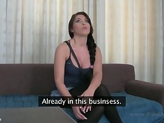 Big tits Bijou is smitten by the starkness be required of stud's tempt a orchestrate padlock