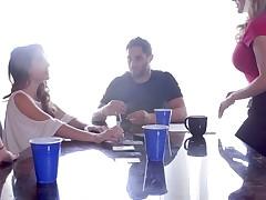 Alli Rae & Brandi Love & Kimmy Granger in The Wild Card - MomsTeachSex